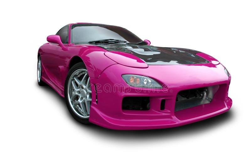 ροδανιλίνης αθλητισμός αυτοκινήτων στοκ εικόνες με δικαίωμα ελεύθερης χρήσης