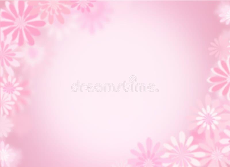 ροζ ανασκόπησης διανυσματική απεικόνιση