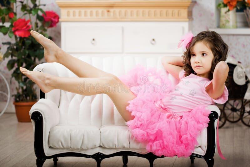 ροζ βρεφικών σταθμών κορι&t στοκ φωτογραφία