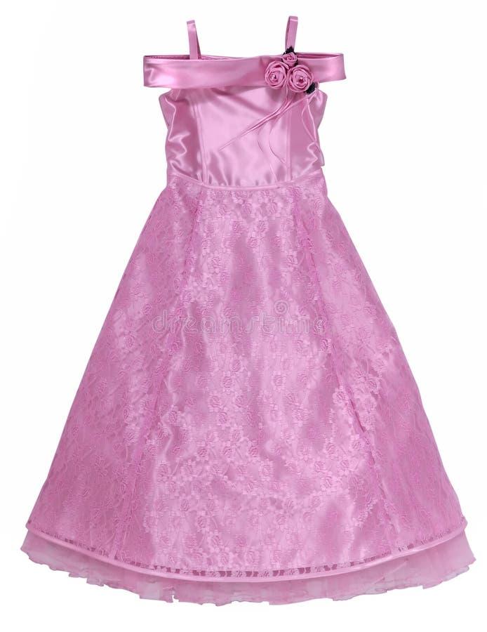 ροζ δαντελλών φορεμάτων στοκ φωτογραφίες με δικαίωμα ελεύθερης χρήσης