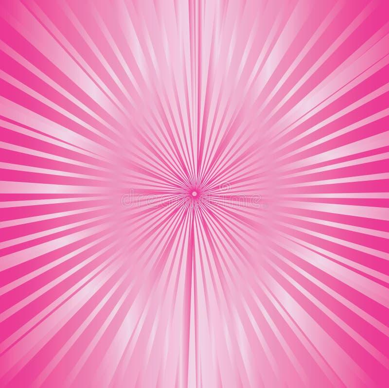 Ροζ ηλιοφάνειας απεικόνιση αποθεμάτων