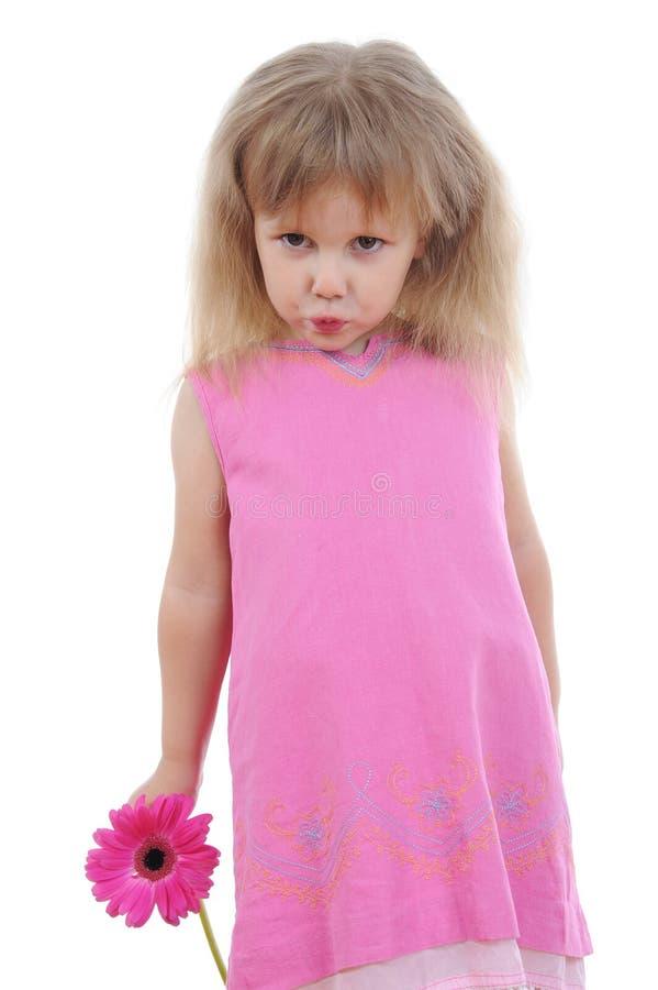 ροζ κοριτσιών φορεμάτων στοκ εικόνες με δικαίωμα ελεύθερης χρήσης