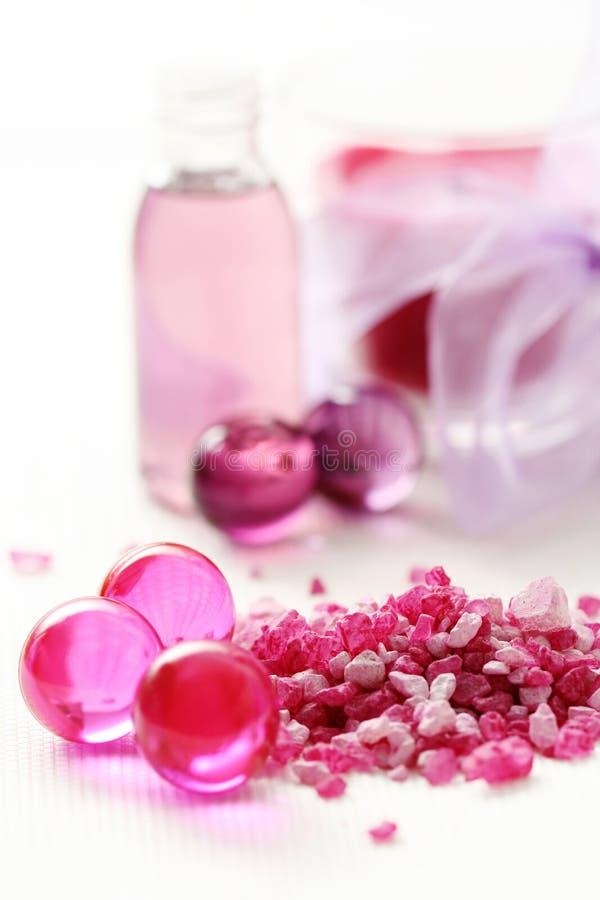 ροζ λουτρών στοκ εικόνες με δικαίωμα ελεύθερης χρήσης