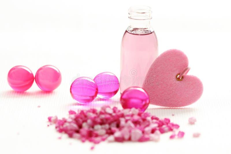 ροζ λουτρών στοκ φωτογραφία με δικαίωμα ελεύθερης χρήσης