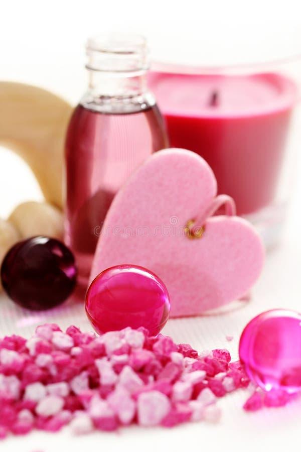 ροζ λουτρών στοκ φωτογραφίες