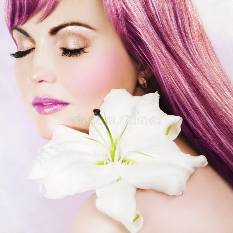 ροζ ομορφιάς στοκ φωτογραφίες