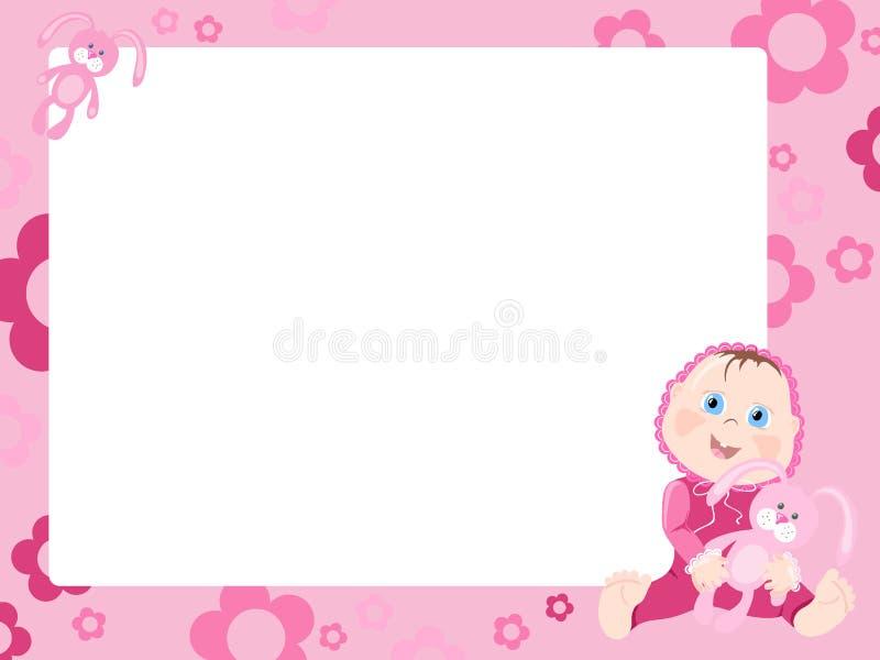 ροζ πλαισίων διανυσματική απεικόνιση