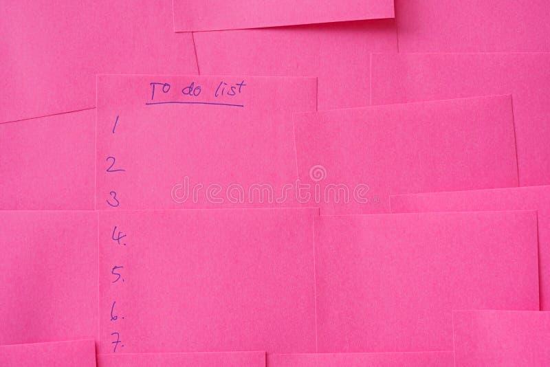 ροζ σημειώσεων στοκ εικόνες