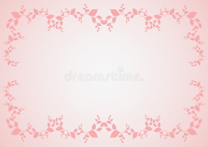 ροζ συνόρων διανυσματική απεικόνιση