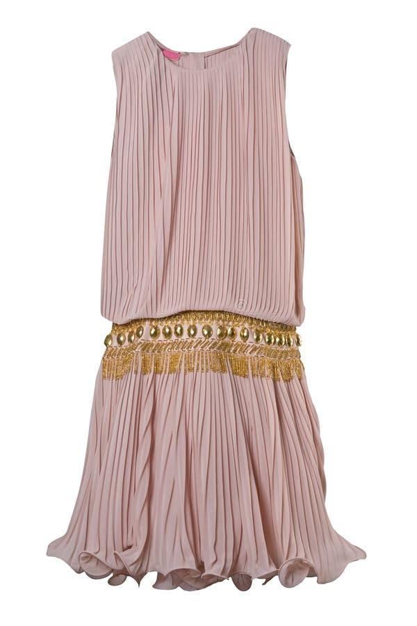 ροζ φορεμάτων στοκ φωτογραφίες