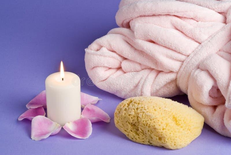 ροζ φωτός ιστιοφόρου μπο&u στοκ εικόνες