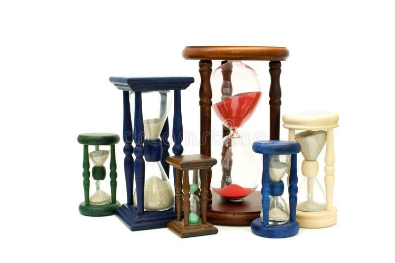 ρολόγια οικογενειακής άμμου στοκ εικόνες με δικαίωμα ελεύθερης χρήσης