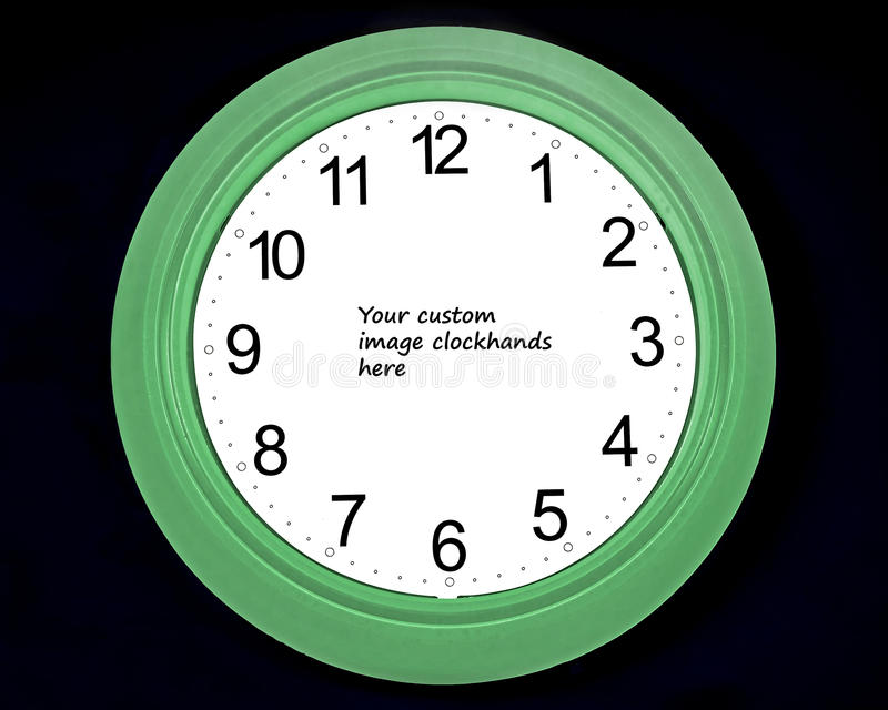 Download ρολόι γυμνό στοκ εικόνα. εικόνα από πρόσωπο, χρόνος, πράσινος - 17058987