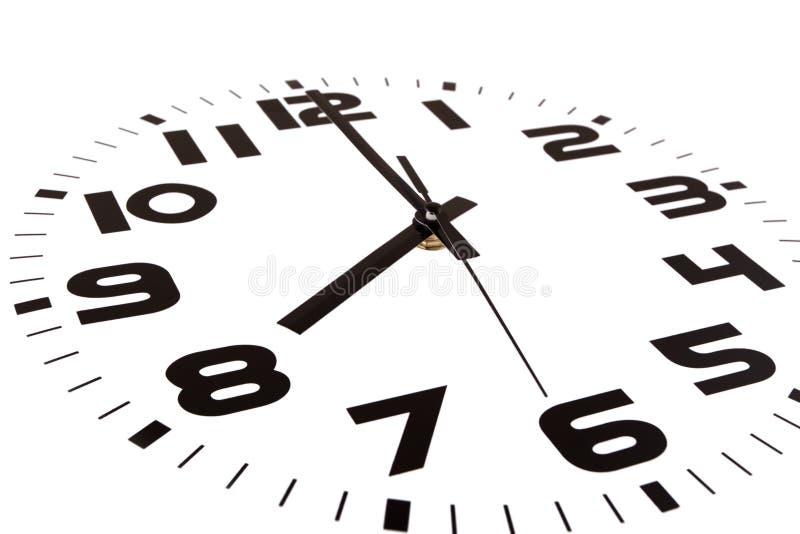 ρολόι οκτώ ο στοκ εικόνες με δικαίωμα ελεύθερης χρήσης