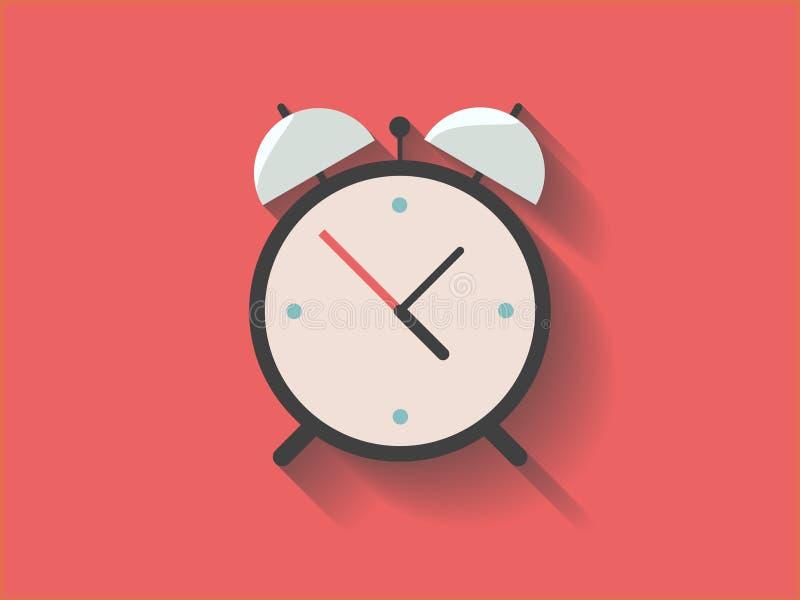 ρολόι συναγερμών αναδρομικό στοκ εικόνες
