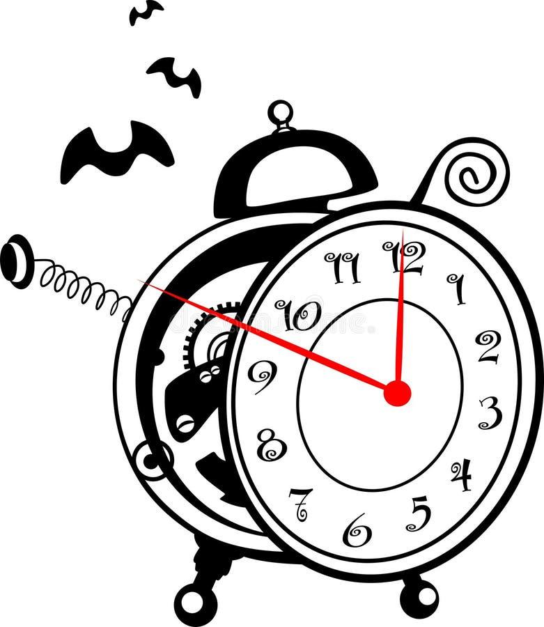 Download ρολόι συναγερμών μαγικό διανυσματική απεικόνιση. εικονογραφία από φθινοπώρου - 13184063