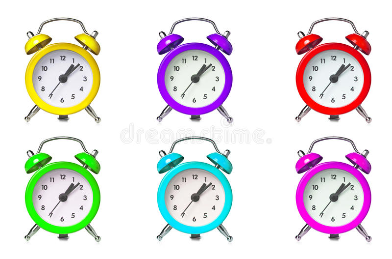 ρολόι συναγερμών ελεύθερη απεικόνιση δικαιώματος