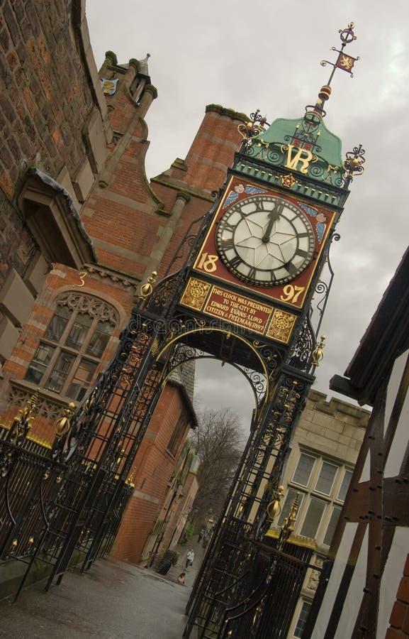ρολόι του Τσέστερ eastgate στοκ φωτογραφία με δικαίωμα ελεύθερης χρήσης