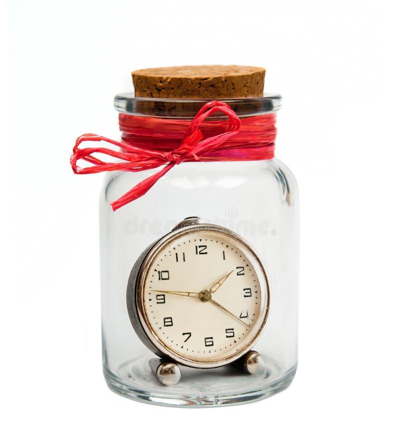 ρολόι τραπεζών παλαιό στοκ εικόνες