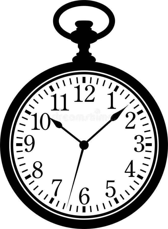 ρολόι τσεπών ελεύθερη απεικόνιση δικαιώματος