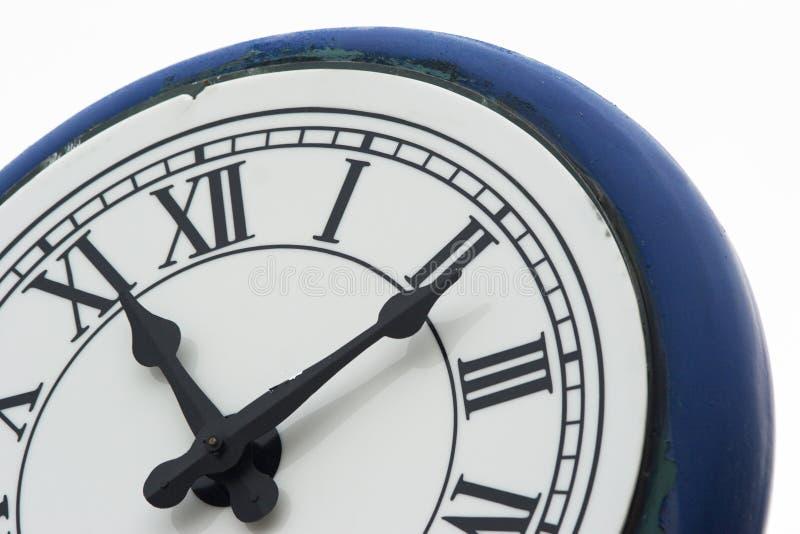 ρολόι 2 υπαίθριο στοκ εικόνα