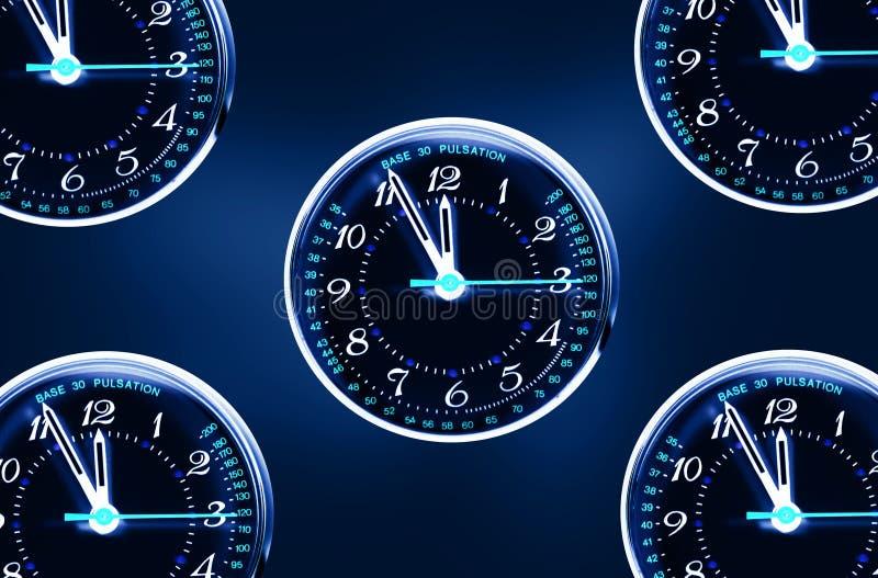 ρολόι puls στοκ εικόνες