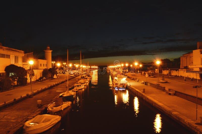 Ρομαντική άποψη νύχτας στοκ εικόνα με δικαίωμα ελεύθερης χρήσης