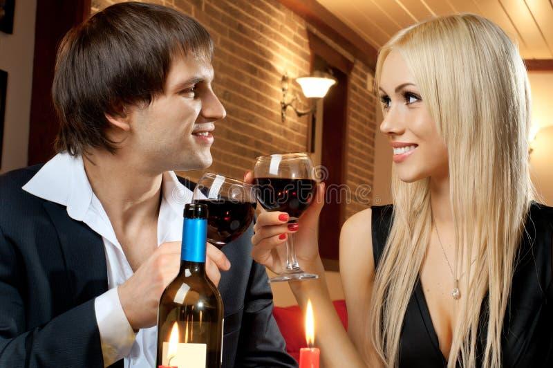 Ρομαντική ημερομηνία στοκ φωτογραφία με δικαίωμα ελεύθερης χρήσης