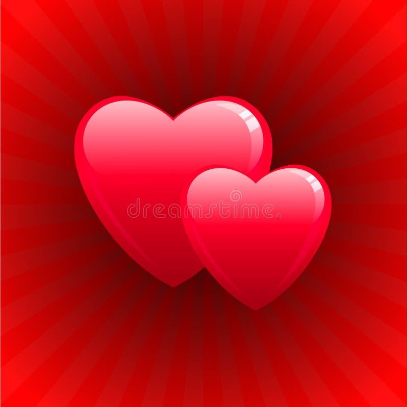 ρομαντικός s σχεδίου ημέρα& διανυσματική απεικόνιση