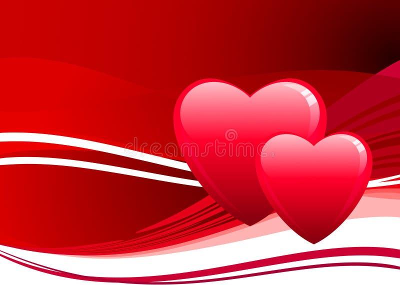 ρομαντικός s σχεδίου ημέρα& απεικόνιση αποθεμάτων