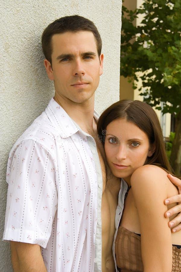 Ρομαντικό ζεύγος στοκ εικόνα