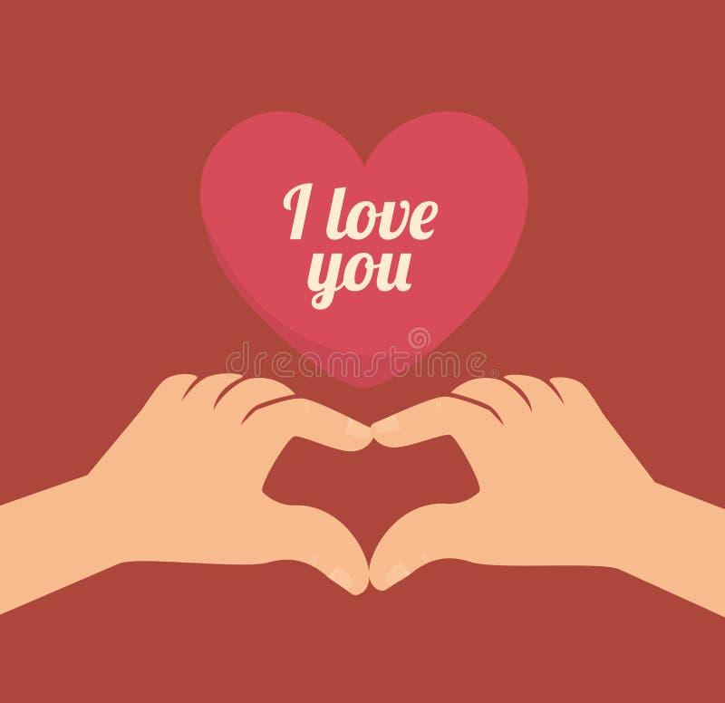 Download Ρομαντικό ζωηρόχρωμο σχέδιο καρτών με τις ρόδινες καρδιές Απεικόνιση αποθεμάτων - εικονογραφία από υλοτομία, διακοσμητικός: 62702808