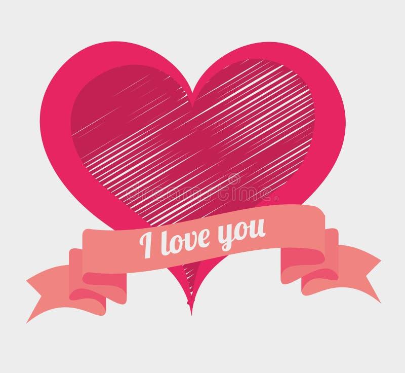 Download Ρομαντικό ζωηρόχρωμο σχέδιο καρτών με τις ρόδινες καρδιές Απεικόνιση αποθεμάτων - εικονογραφία από αποχής, μορφή: 62702878