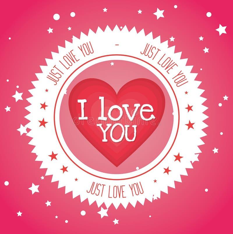 Download Ρομαντικό ζωηρόχρωμο σχέδιο καρτών με τις ρόδινες καρδιές Απεικόνιση αποθεμάτων - εικονογραφία από κόκκινος, εορτασμός: 62702894