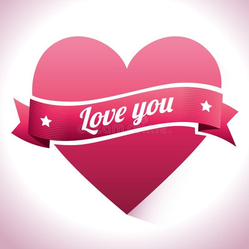 Download Ρομαντικό ζωηρόχρωμο σχέδιο καρτών με τις ρόδινες καρδιές Απεικόνιση αποθεμάτων - εικονογραφία από δώρο, απεικόνιση: 62702956