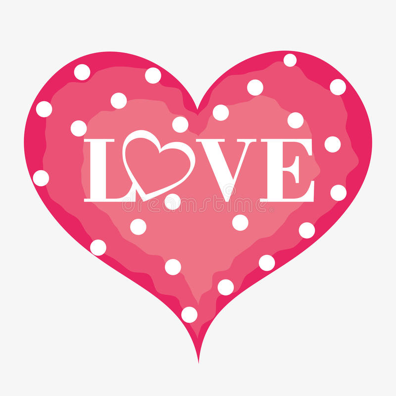Download Ρομαντικό ζωηρόχρωμο σχέδιο καρτών με τις ρόδινες καρδιές Απεικόνιση αποθεμάτων - εικονογραφία από μορφή, κάρτα: 62702965