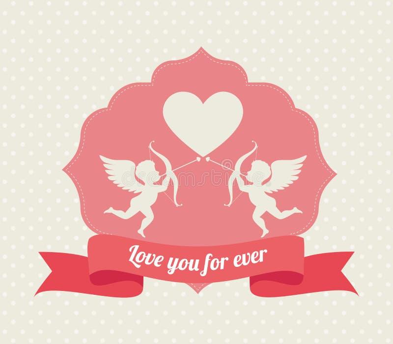 Download Ρομαντικό ζωηρόχρωμο σχέδιο καρτών με τις ρόδινες καρδιές Απεικόνιση αποθεμάτων - εικονογραφία από ρομαντικός, ετικέτα: 62703075