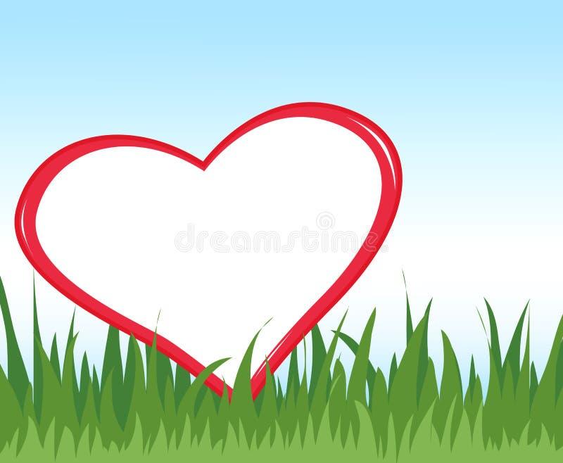 Ρομαντικό πλαίσιο ελεύθερη απεικόνιση δικαιώματος