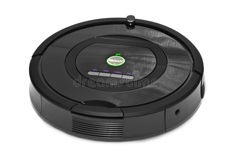 Ρομποτική ηλεκτρική σκούπα στοκ εικόνες με δικαίωμα ελεύθερης χρήσης