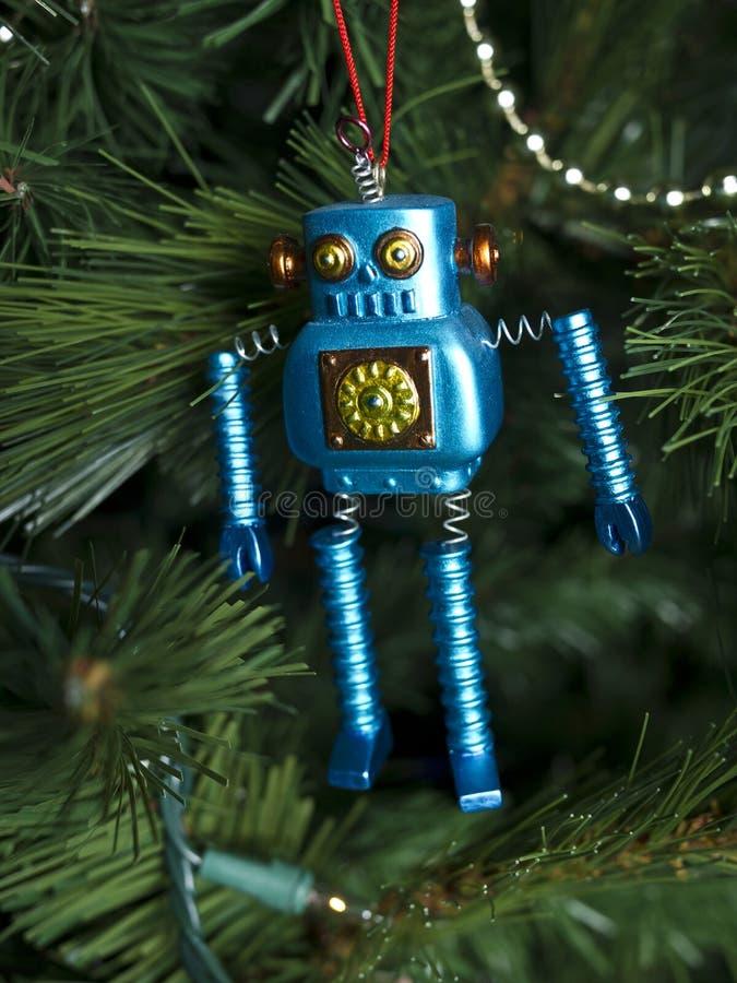 Ρομπότ διακοσμήσεων Χριστουγέννων στοκ φωτογραφίες με δικαίωμα ελεύθερης χρήσης