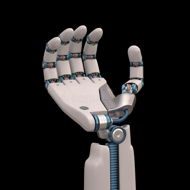 Ρομπότ εκμετάλλευσης στοκ εικόνα