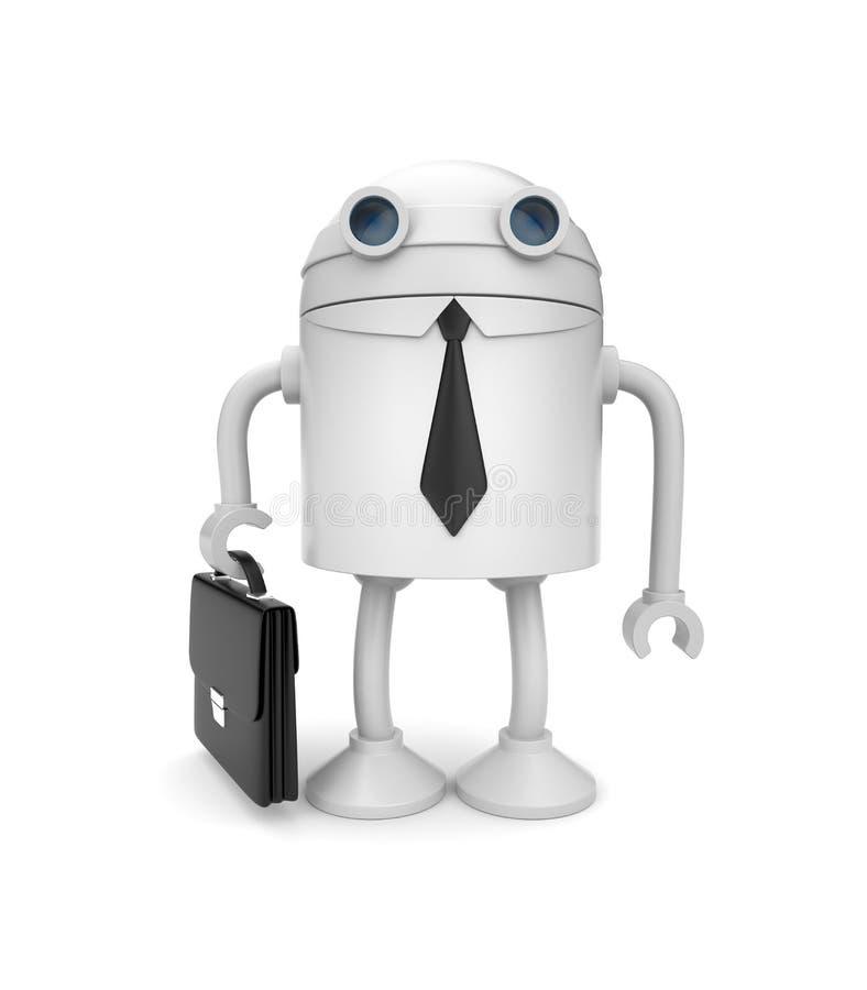 ρομπότ επιχειρηματιών διανυσματική απεικόνιση