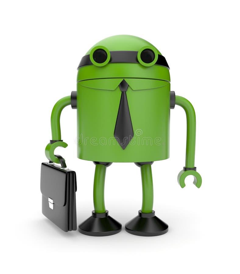 ρομπότ επιχειρηματιών ελεύθερη απεικόνιση δικαιώματος
