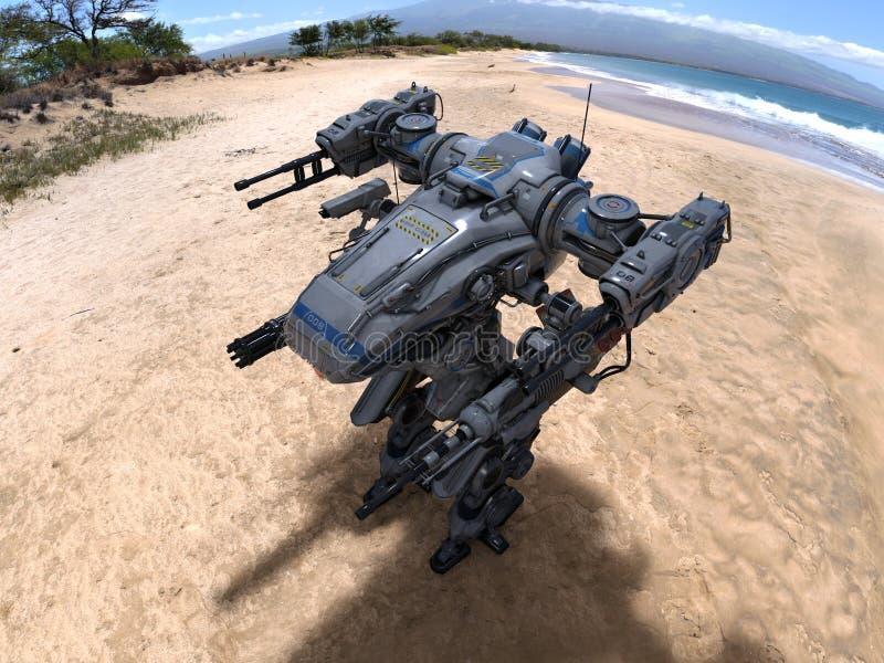 Ρομπότ μάχης στοκ φωτογραφίες με δικαίωμα ελεύθερης χρήσης