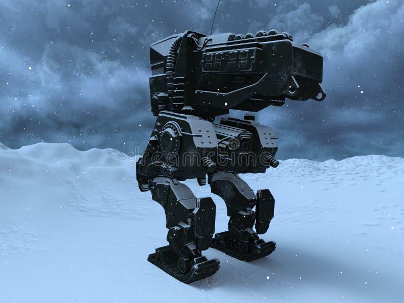 Ρομπότ μάχης στοκ φωτογραφία