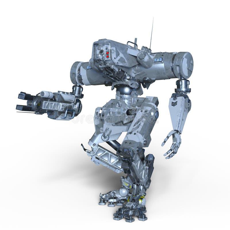 Ρομπότ μάχης στοκ εικόνες