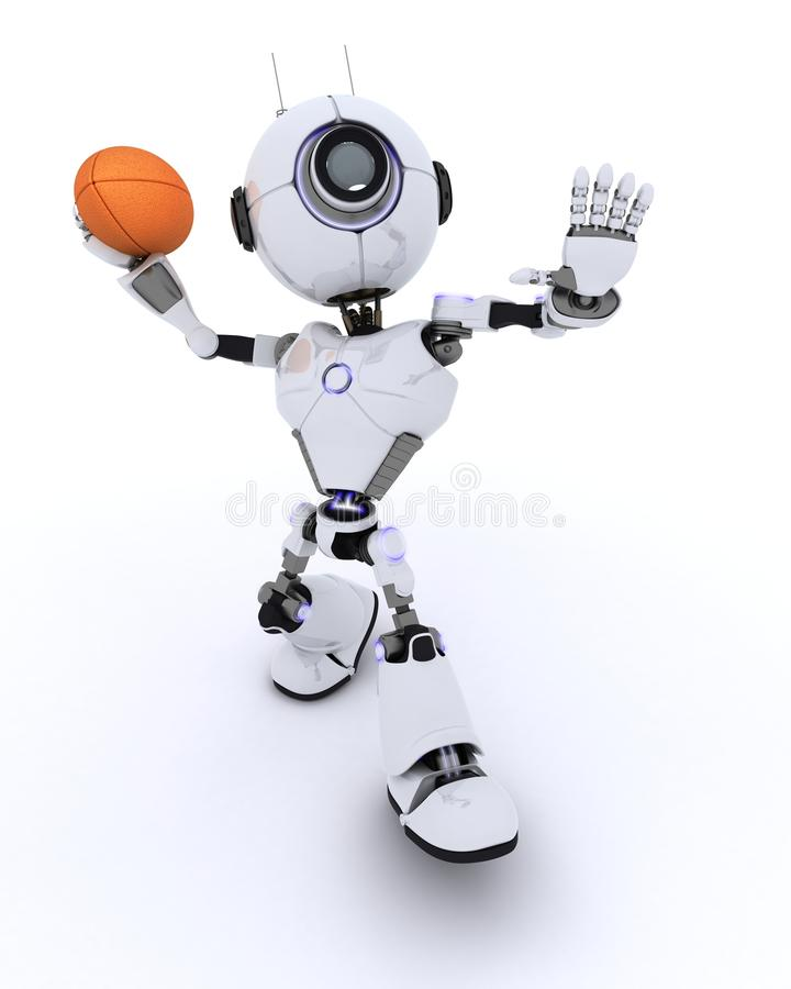 ρομπότ παιχνιδιού αμερικα απεικόνιση αποθεμάτων