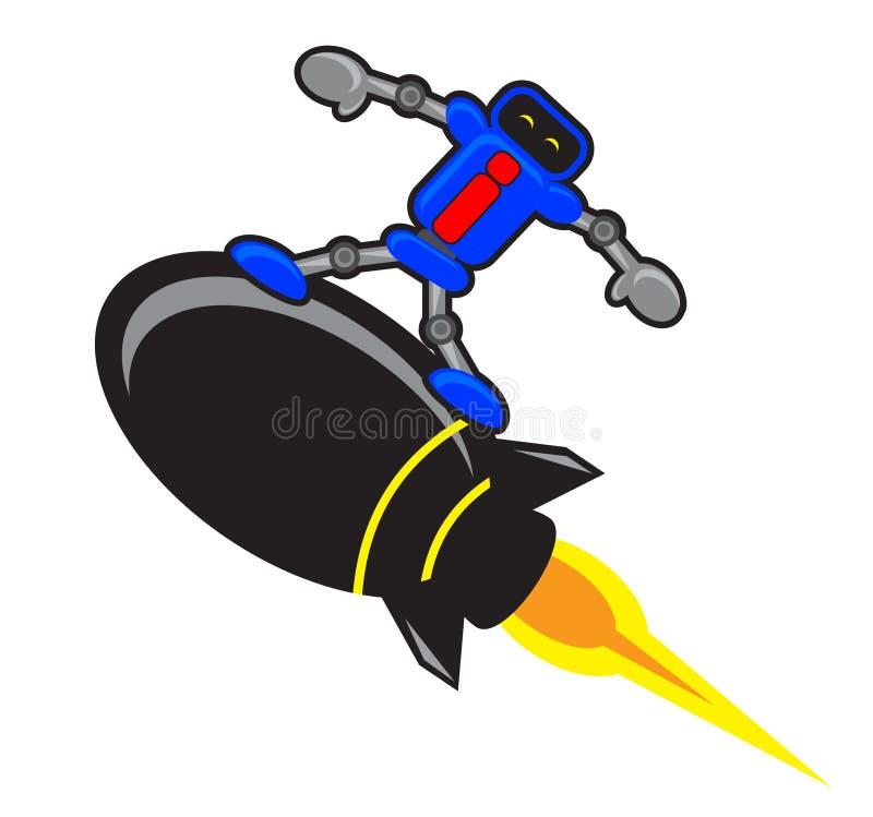 Download Ρομπότ διανυσματική απεικόνιση. εικονογραφία από ακτινίου - 22780433