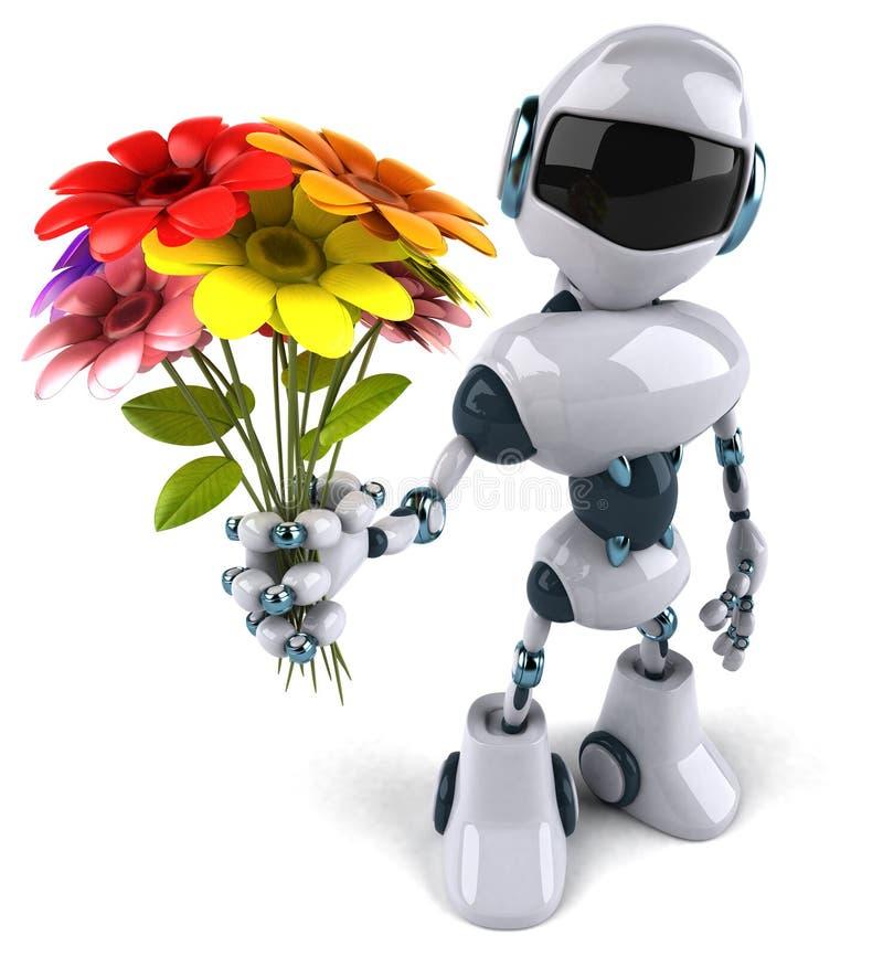 Ρομπότ διανυσματική απεικόνιση