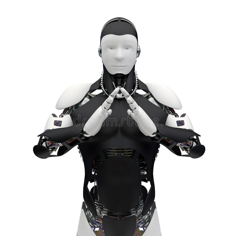 ρομπότ v01 ελεύθερη απεικόνιση δικαιώματος